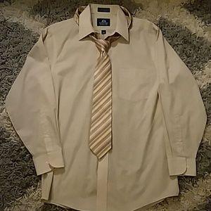 Dress shirt and dress tie combo